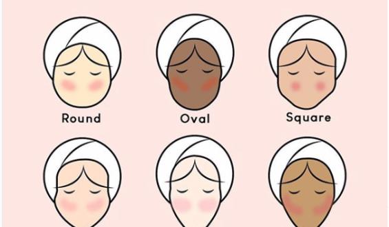 Come applicare il blush dipende (anche) dalla forma del tuo viso
